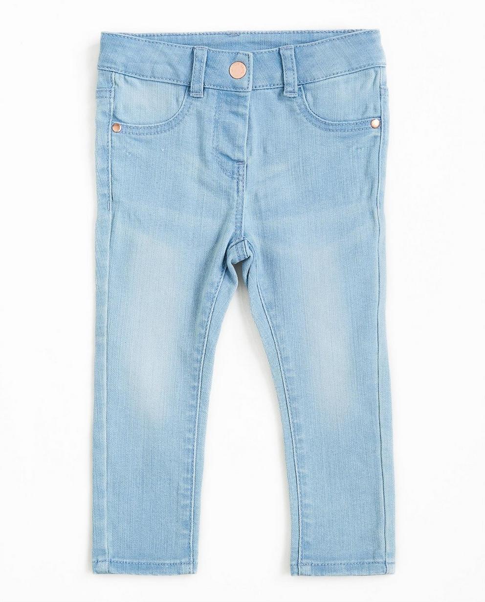 Hellblaue Jeans - verwaschen - JBC